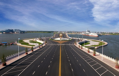 滨州市地桥太阳岛工程