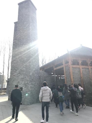 山东永泰建设工程咨询有限公司庆三八西纸坊.黄河古村一日游活动